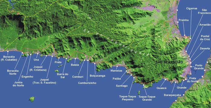 Mapa sao-sebastiao